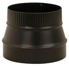 Imperial Mfg BM0079/8X6-611 Stove Pipe Flue Reducer 8X6in Black 24 Gauge *
