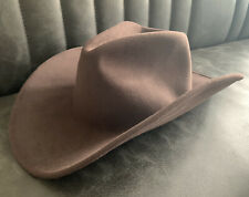 Renegade Brown Western Cowboy Hat - MEDIUM - 100% Wool Lite Felt -Packable Wired
