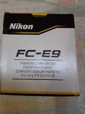Objetivo Nikon FC-E9 0,2x Convertidor Ojo De Pez
