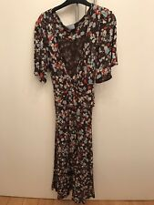 oasis floral dress size 10