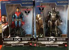 DC multiverse injustice 2 superman batman metal platinum collection