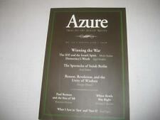 NEW Azure - Ideas for the Jewish Nation Spring 2006 no 24