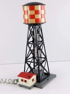American Flyer Postwar 23772 Bubbling Water Tower S Gauge Structure