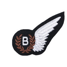 ROYAL AIR FORCE PILOTS WINGS PADDED IN CREAM WORLD WAR 2 REPRODUCTION