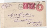 united states 1919 embossed & stuck on stamps stamps cover ref 21094