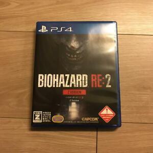 PS4 BIOHAZARD RE:2 Z Version 4976219098410 Japanese ver from Japan