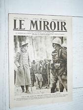 MIROIR 09/01 1916 GUERRE 14-18 ESPIONS LOOS HAIG JOFFRE SALONIQUE LAMPERNISSE