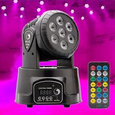105W RGBW 7-LEDs Stage Lights Moving Head DMX DJ Disco Party Lighting