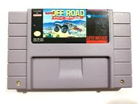 Off Road Baja Super Nintendo SNES Original Authentic Game! Tested & Working!