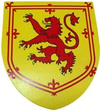 More details for rampant lion toy shield 35cm scotland knight medieval cosplay kids adult larp