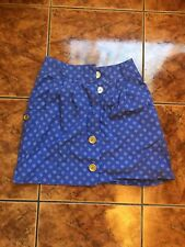 Urban Outfitters Cooperative Purple Short Button Skirt Size Small