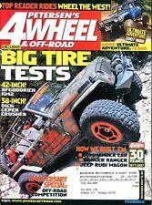 Petersen's 4 Wheel & Off-Road Magazine December 2007 Big Tire Tests