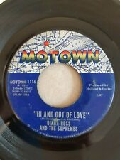 """Diana Ross And The Supremes - """"In and Out Of Love"""" - Motown 1116"""