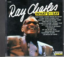 Ray Charles - What'd I Say CD 1989