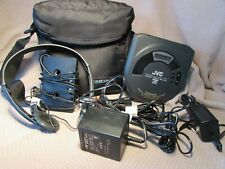 Jvc Portable Cd player Xl-P53 with case and accessories