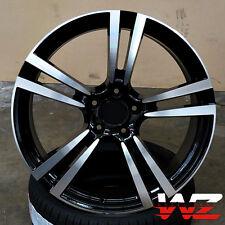 "21"" Machined Black Wheels Fits Porsche Cayenne S Turbo GTS VW Touareg Audi Q7"