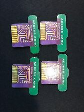 Omega Virus  GREEN ACCESS CARDS Board Game Replacement Parts lot of 4