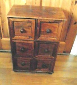 Multi Drawer Wooden Storage Unit