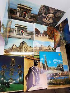 Vtg Mexichrome Iris Color Photo Print Art Lot of 12 Europe Paris France Belgium