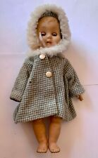 Vintage Plastic Doll with Sleepy Eyes