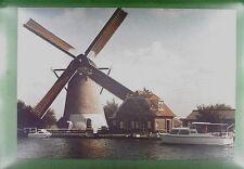 CPA Holland Warmond Windmill Moulin a Vent Windmühle Molin Mill Wiatrak w165