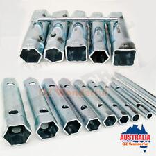 13pcs Tube Spanners Tubular Tap Spanner Plumbing Socket Wrench Set Rod Handles