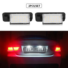 2X LED License Plate Light 3528 SMD 6000k White 12v Lamp For BMW E36 318is 325i