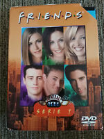 FRIENDS TEMPORADA SEASON 7 COMPLETA 4 DVD DOBLE EDICION CAJA DURA CENTRAL PERK