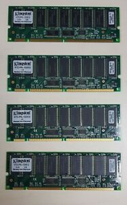 Kingston PC-133 512 MB DIMM 133 MHz SDRAM Memory (KTC-PRL133/512) - 4 pcs