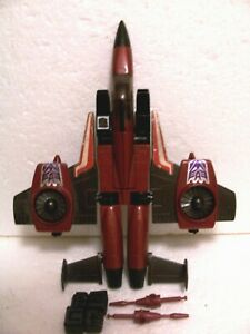 G1 Planes: vintage Thrust rubsign error variant nr com seeker jet lot Starscream