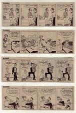 Blondie & Dagwood by Chic Young - 26 daily comic strips - Complete August 1976