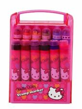 Hello Kitty Argyle - Write N Stamp Marker Set