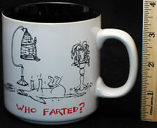 Who Farted Mug Lamb Dead Dog Bird Plant Gas Funny Potty Humor Laugh Gag Gift