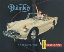BROCHURE DEPLIANT DAIMLER V8 S.P. 250 (G32)