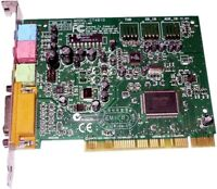 Creative Labs VIBRA 128, CT-4810, 2.0 Channel, PCI Sound Card