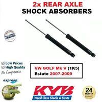 2x KYB REAR AXLE SHOCK ABSORBERS SET for VW GOLF Mk V (1K5) Estate 2007-2009