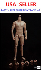 GangHood 1/6 Scale Asian Muscle Body 2.0 Version For Hot Toys Bruce Head Sculpts