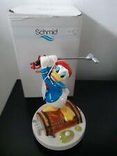 Vintage Disney Schmid Donald Duck Golf Music Box Figurine Whistle A Happy Tune