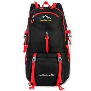 Sac a Dos Exterieur Etanche Grande Capacite Bag pour Cyclisme 60L Noir GF80763