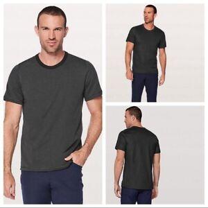 Lululemon Large Concurrent Reversible Short Sleeve Shirt NWT Msrp $68