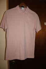 Vintage Adidas Men's Pink Polo Shirt Size Medium
