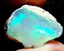 Ethiopian Opal Welo Rough * VIDEO 14.87 CTs AAA FIRE Cutting Grade USA DEALER