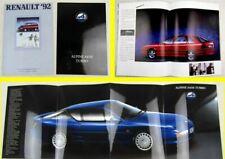 2 Prospekte Renault Alpine A610 Turbo + Scenic Clio 5 19 21 25 Espace 1991/92
