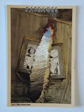 Carte Postale Schuiten n°3 , Passages ,( Les Cités Obscures) , 1993