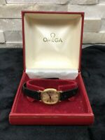 Omega Deville Ladies Vintage Watch With Box