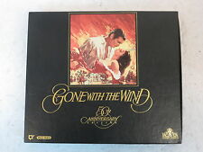 GONE WITH THE WIND 50th ANNIVERSARY EDITION   MGM/UA 1989  2 VHS Boxed set