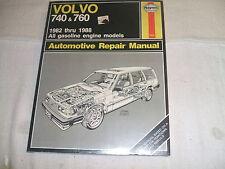 Haynes Repair Manual Volve 740 & 760 1982-1988 All Gasoline Engine Models