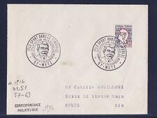 ec67/ Enveloppe    le sport dans le timbre  Metz      1967