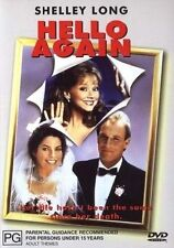 Hello Again (DVD) Shelley Long - Region 4 - Very Good Condition - RARE!