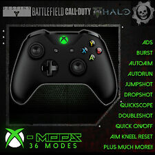 XBOX ONE S RAPID FIRE CONTROLLER - BEST MOD ON EBAY!! ***GREEN LED*** - CoD MoD